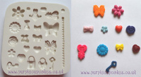 FPC Sugarcraft Mould - Tiny Embellishments