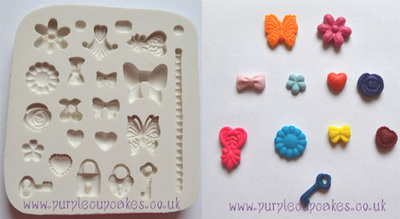 Cupcake Mould - Tiny Embellishments