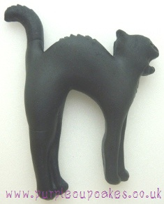 Cupcake Mould - Halloween Black Cat