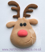 FPC Sugarcraft Mould - Christmas Reindeer Head