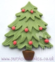 Cupcake Mould - Christmas Tree