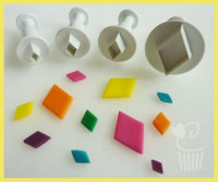 Diamond Plunger Cutters Set of 4