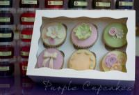 Cupcake Boxes x 6 Cupcakes