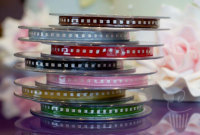Ribbon: Box Stitch - 7mm x 5mtrs