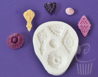 FPC Sugarcraft Mould - Brooches Filigree
