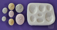 FPC Sugarcraft Mould - Cameo Ladies