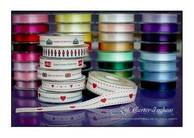 Ribbon: Everything Stops For - 15mm x 5 metres