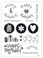"impressitâ""¢ Cake Stamps: BIRTHDAY STAMPS & ELEMENTS"