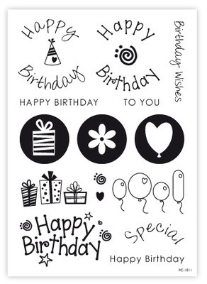 Birthday Stamps & Elements