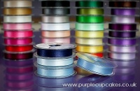 Satin Ribbon 15mm x 5mtrs:  Dusky Blue