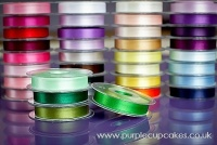 Satin Ribbon 15mm x 5mtrs:  Emerald Green