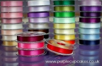 Satin Ribbon 15mm x 5mtrs:  Red