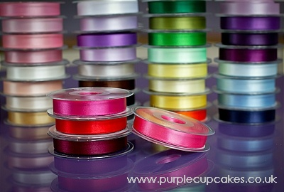 Satin Ribbon 15mm x 5mtrs:  Sugar Pink