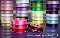 Satin Ribbon 15mm x 5mtrs:  Wine