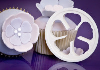 Rose 5 Petal Cutter with delicate tips 65mm