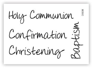 impressit™ Christening  Baptism