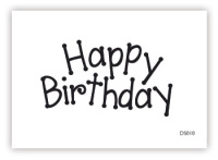 "impressitâ""¢ Cake Stamps - Happy Birthday DOTTY"