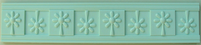 Cupcake Mould - Daisy Border