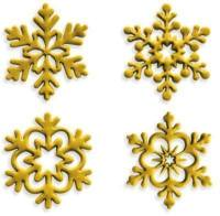 Angel Snowflakes set of 4