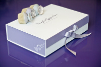Purple Cupcakes Gift Box / Gift Wrap Service