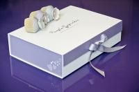 Purple Cupcakes Gift Box / Gift Wrap Service