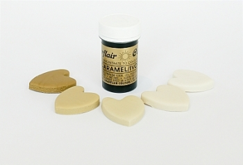 Paste Colours 25g - Caramel/Ivory