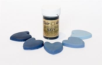Paste Colours 25g - Navy Blue