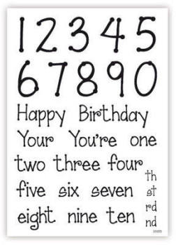 Birthday Numbers and Ages
