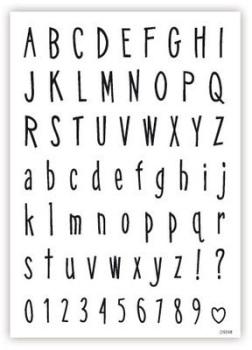 Alphabet and Numbers: RETRO