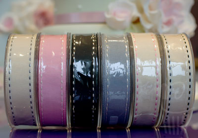 Ribbon: Stitched Grosgrain - 15mm x 4mtrs