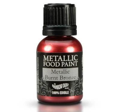 Metallic Food Paint - Burnt Bronze