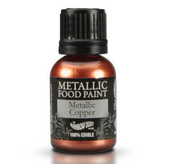 Metallic Food Paint - Copper