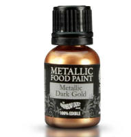 Metallic Food Paint - Dark Gold