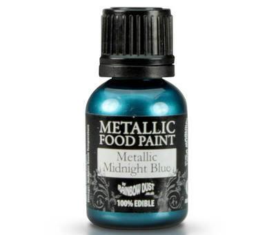 Metallic Food Paint - Midnight Blue