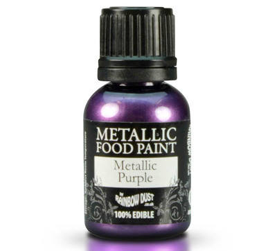 Metallic Food Paint - Purple