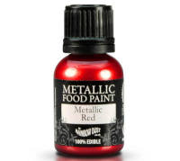 Metallic Food Paint - Red