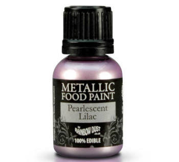 Metallic Food Paint - Pearlescent Lilac