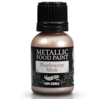 Metallic Food Paint - Pearlescent Mink
