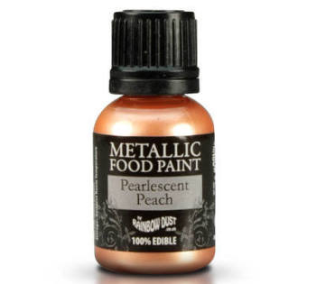 Metallic Food Paint - Pearlescent Peach