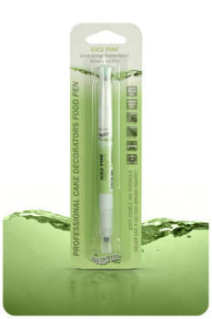 Edible Ink Pen - Green Iced Pine