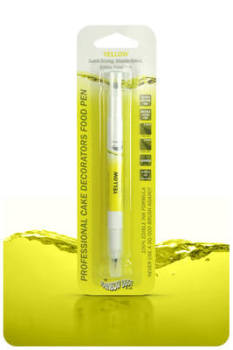 Edible Ink Pen - Yellow