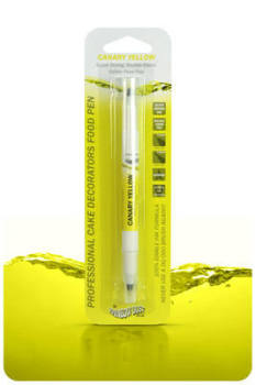 Edible Ink Pen - Canary Yellow