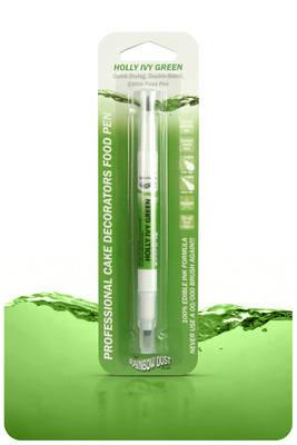 Edible Ink Pen - Holly Green