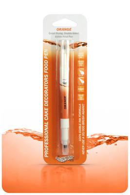 Edible Ink Pen - Orange