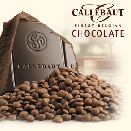 Callebaut Finest Belgian Dark Chocolate Buttons 1kg Bag