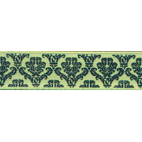 Ribbon: Baroque Kiwi 15mm x 5 metres