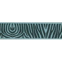 Ribbon: Zebra Gooseberry 15mm x 5 metres