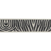 Ribbon: Zebra Cream/Beige 15mm x 5 metres