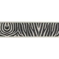 Ribbon: Zebra Cream/Beige 15mm x 5 metres
