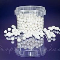 Large Sugar Pearls 7mm - Pearl White